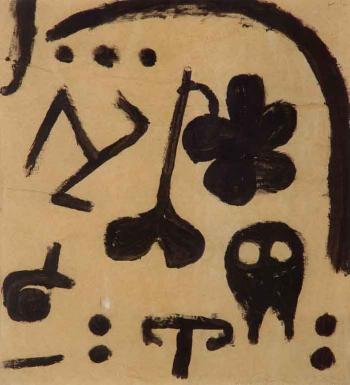 Paul Klee-Merkzeichen Fur Spater (Pinpoints For Later)-1938