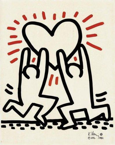 Keith Haring-Keith Haring - Ohne Titel-1982