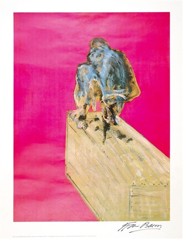 Francis Bacon-Study for a Chimpanzee-1957