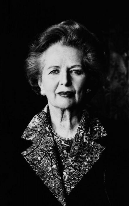 Helmut Newton-Maggie Thatcher.-1991