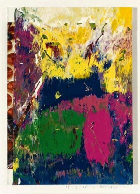Gerhard Richter-Ohne Titel (15.6.08) / Untitled (15.6.08)-2008