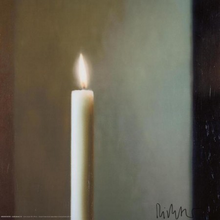 Gerhard Richter-Kerze (Candle)-2011
