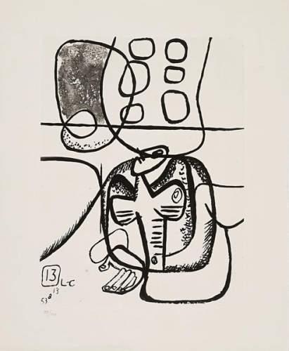 Le Corbusier-Unite # 13-1965
