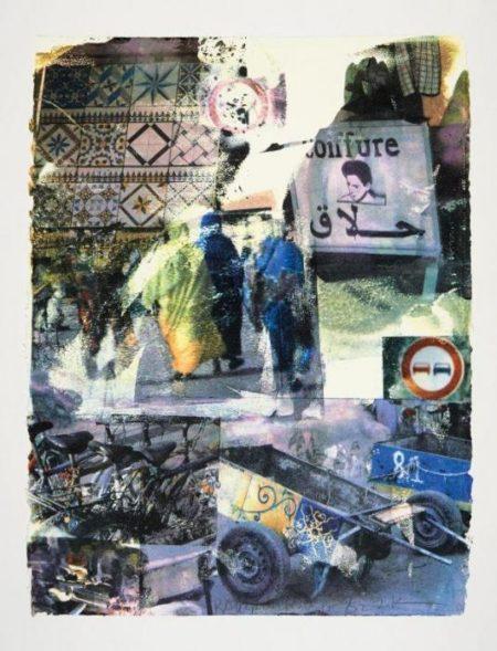 Robert Rauschenberg - Slink (From Marrakitch Series)-2000