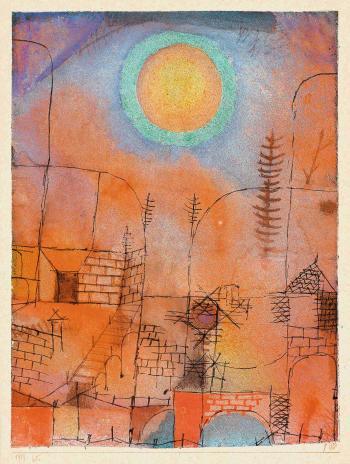 Paul Klee-Bau-1919
