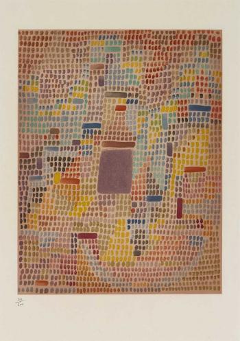 Paul Klee-Mit Dem Eingang-1951