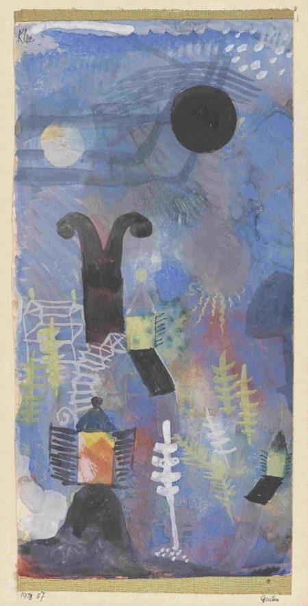 Paul Klee-Garten-1918
