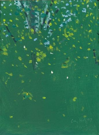 Alex Katz-Summer Trees-2007
