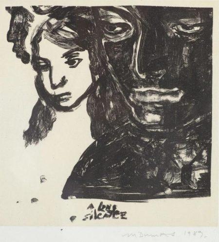 Marlene Dumas-A Long Silence-1984