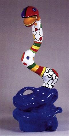 Niki de Saint Phalle-Grand fauteuil au serpent-1982