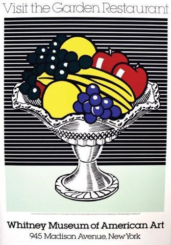 Roy Lichtenstein-Visit the Garden Restaurant-