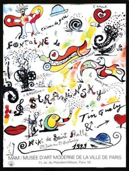 Fontaine de Stravinsky-1983
