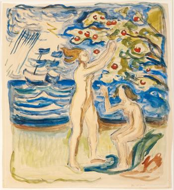 Edvard Munch-Neutralia / Noytralien-1915