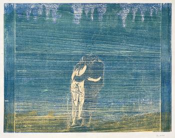Edvard Munch-Mot skogen I / Towards The Forest I / Zum Walde I (W. 112; S. 100)-1897