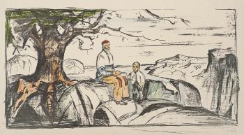 Edvard Munch-Historien; Alma Mater-1914