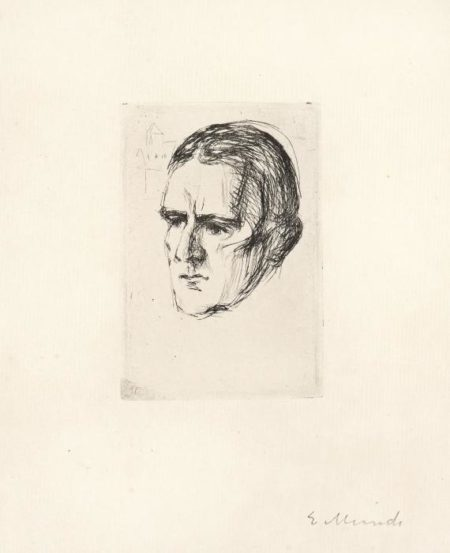 Edvard Munch-Hieronymus Heyerdahl-1916