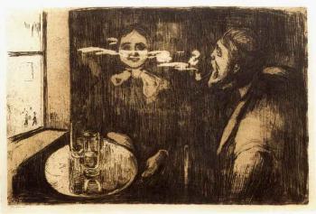 Edvard Munch-Tete-a-tete (Schiefler 12; Woll 9)-1895
