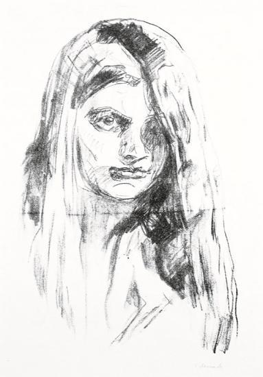 Edvard Munch-Eva Kittelsen-1913