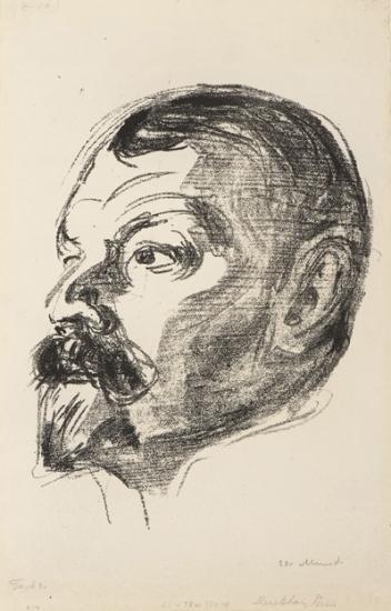 Edvard Munch-Jens Thiis (Woll no. 447)-1913