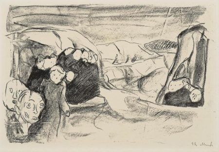 Edvard Munch-Angst-