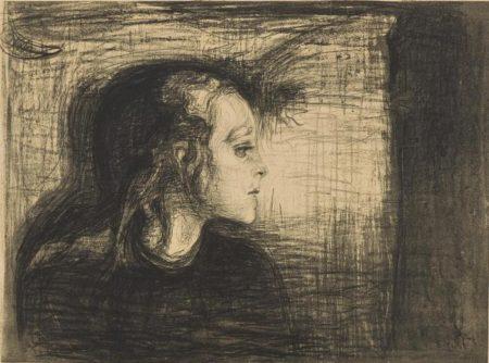 Edvard Munch-Das kranke Kind I / Das kranke Madchen / Det Syke Barn I / The sick child I-1897