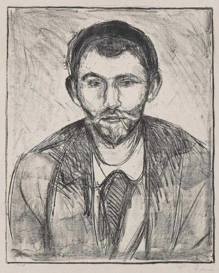 Edvard Munch-Stanislaw Przybyszewski-