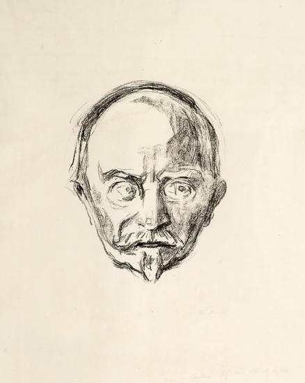 Edvard Munch-Christian Sinding-1912