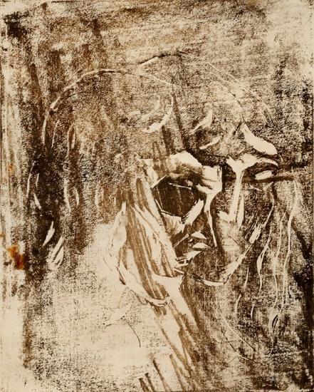 Edvard Munch-Mann og Kvinne / Man and Woman-1905