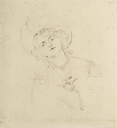 Edvard Munch-Ingse Vibe (Woll no. 193 b)-1902