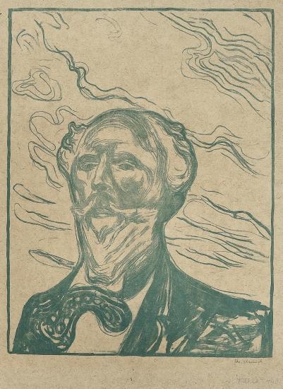 Edvard Munch-Holger Drachmann-1902