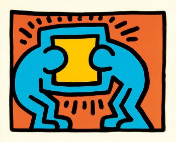 Keith Haring-Keith Haring - from Pop Shop VI-1989