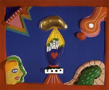 Niki de Saint Phalle-The Hand-1930