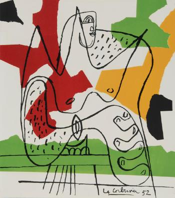 Le Corbusier-Untitled-1952