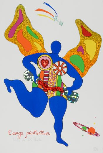 Niki de Saint Phalle-L'ange protecteur-1998