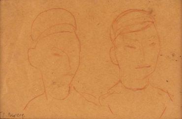 Diego Rivera-Dibujo #14