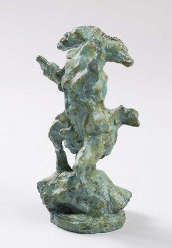 Lucio Fontana-El caballo loco-