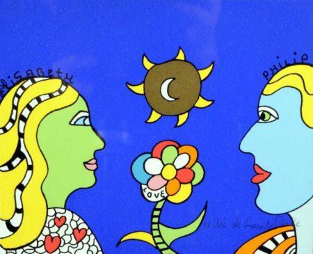 Niki de Saint Phalle-Elisabeth et Phili-