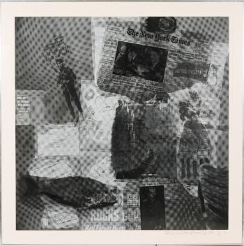 Robert Rauschenberg-Robert Rauschenberg - Surface Series (From Currents)-1970