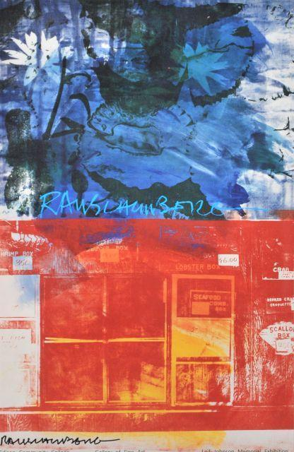 Robert Rauschenberg-Robert Rauschenberg - Edison Community College, Gallery of Fine Art Leif Johnson Me-1993