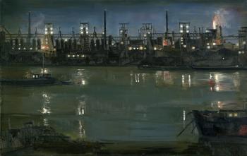 Gerhard Richter-Rheinhausen-1962