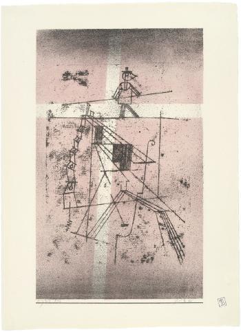 Paul Klee-Der Seiltanzer-1932