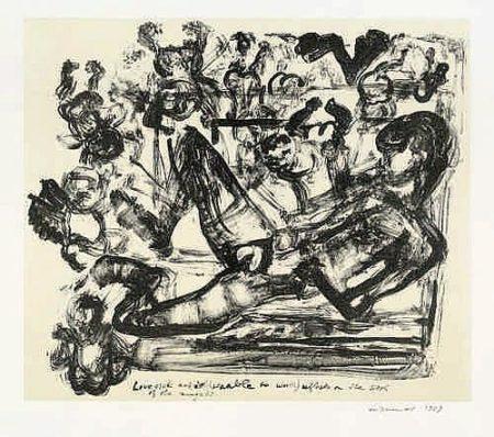 Marlene Dumas-Lovesick artist-1989