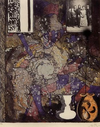 Jasper Johns-Untitled (American Center 1994)-1994