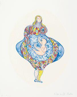 Niki de Saint Phalle-Elizabeth-1995