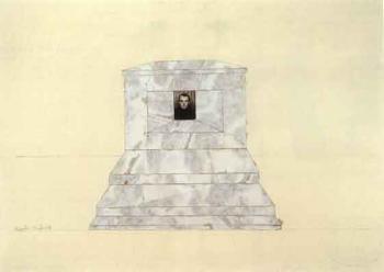 Anselm Kiefer-Selbstbildnis (Self portrait)-1968