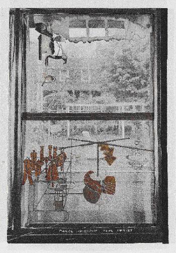 Marcel Duchamp-La Mariee mise a nu par ses celibataires, meme (Le Grand Verr)-1958