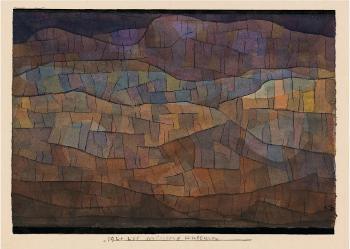 Paul Klee-Verlassene Kulturen (Abandoned Cultures)-1924