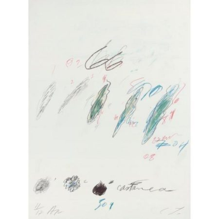 Cy Twombly-Castanea sativa-1976