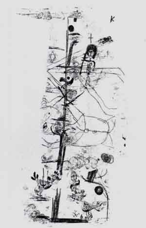 Paul Klee-Vogelkomodie-1918