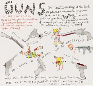 Niki de Saint Phalle-Guns-2001